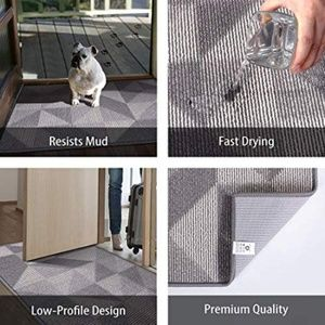 Other - Indoor Doormat Front Door Mat Non Slip Rubber Back